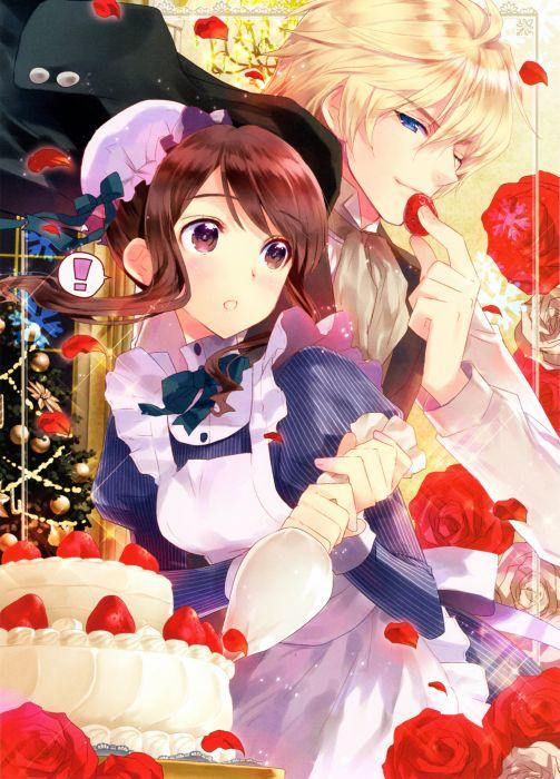 Torikago No Oujo To Kyouiku Kei rose anime wallpaper