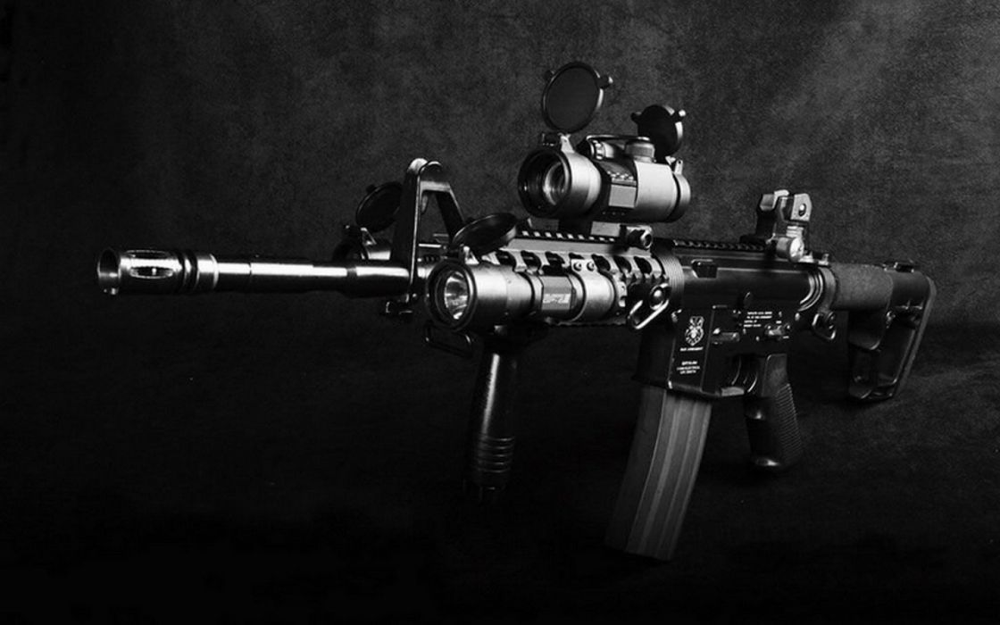 RIFLE- sniper-weapon wallpaper