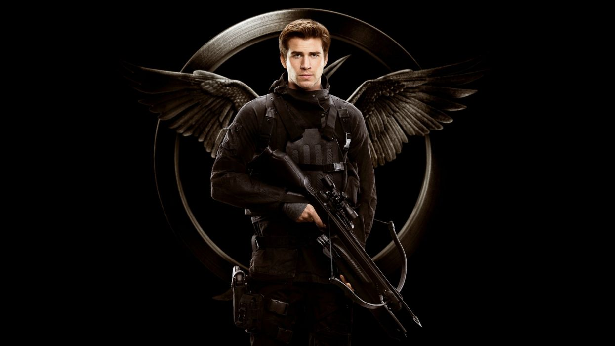 THE HUNGER GAMES - liam hemsworth-gale-bow wallpaper