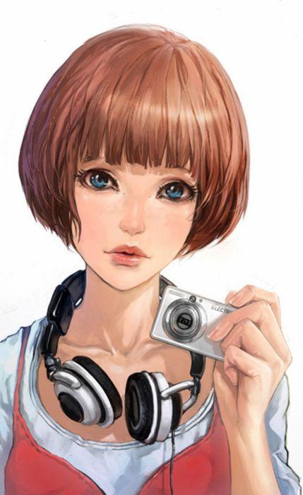 music hair blue eyes foto girl wallpaper