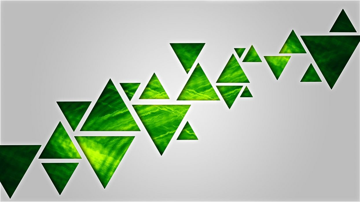 texture abstract green triangle wallpaper