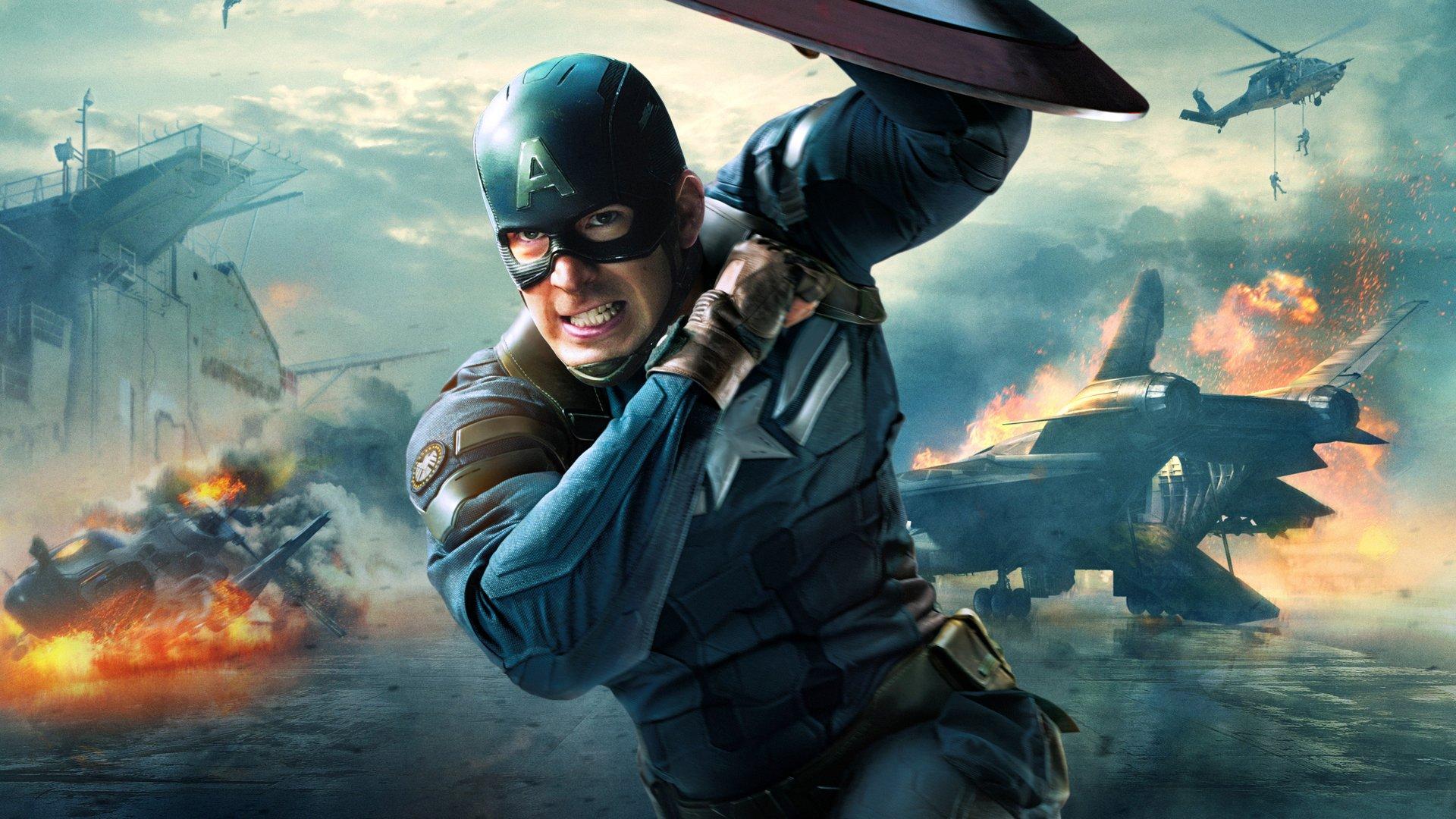 Capetan America Superhero Movie Wallpaper