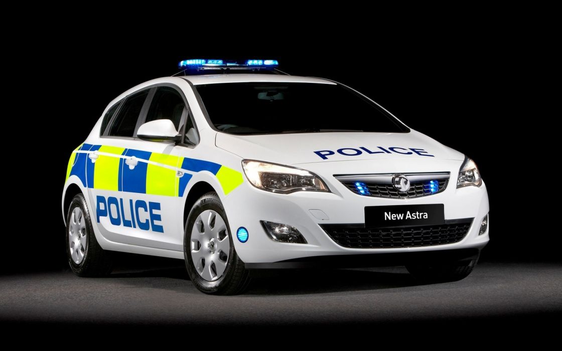 Vauxhall astra car police opel wallpaper