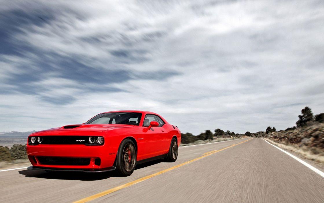 dodge srt 8 car red run wallpaper