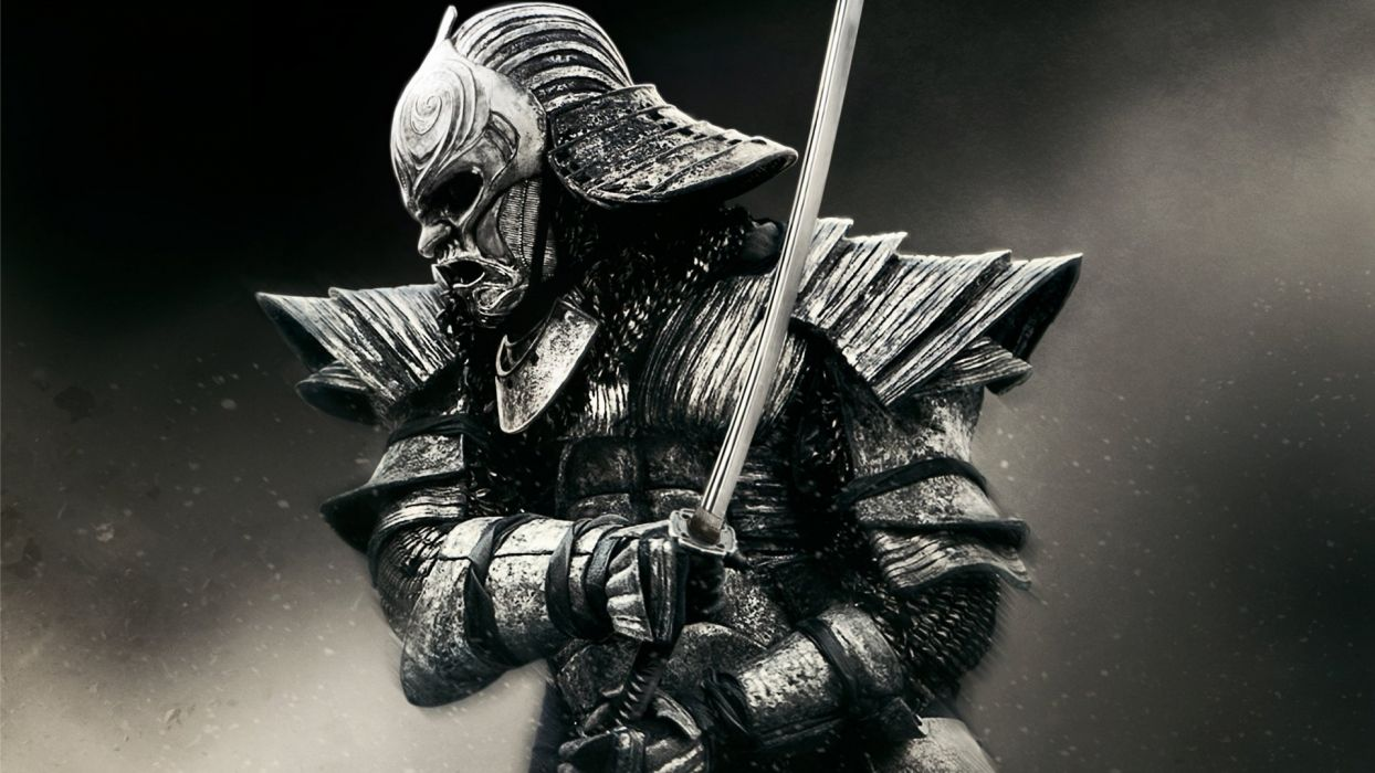 SAMURAI - warrior-sword-mask wallpaper