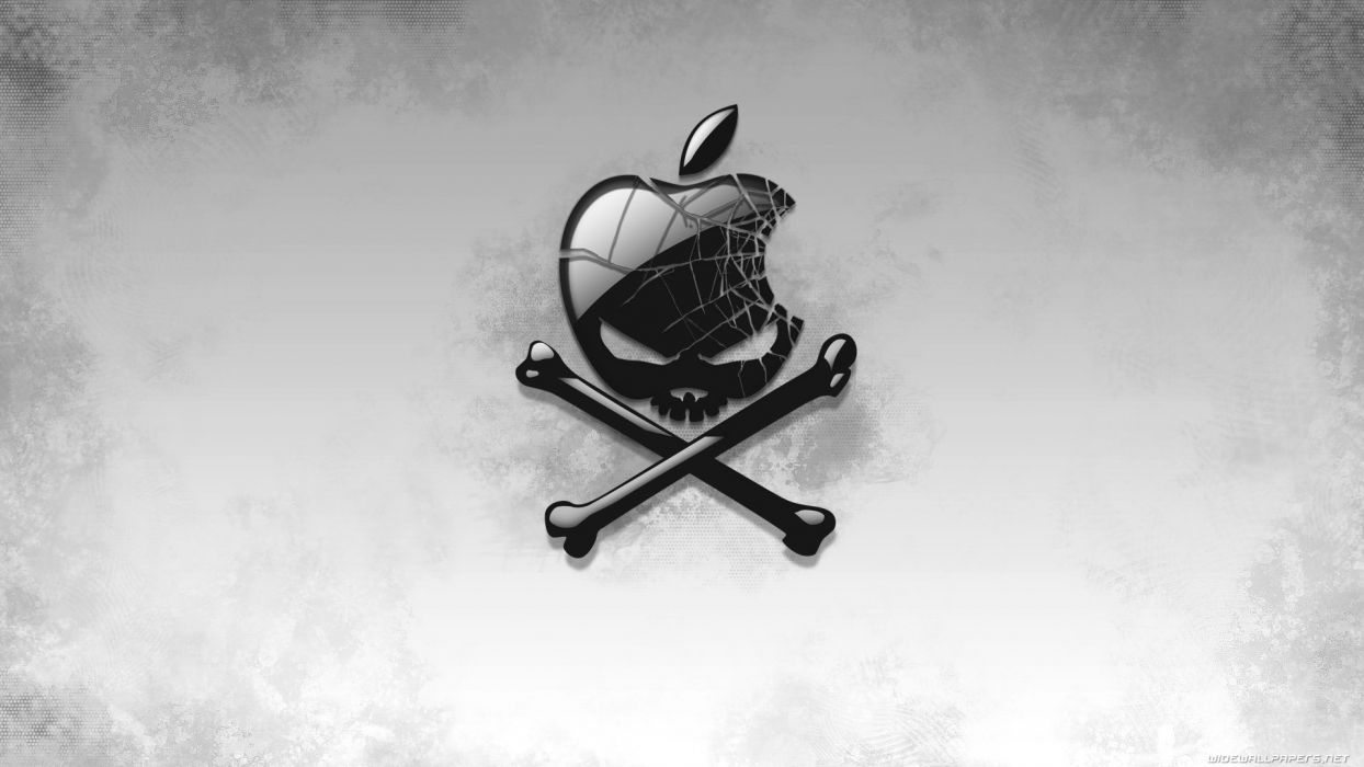 skull apple hd desktop pirate wallpaper 1920x1080 447110
