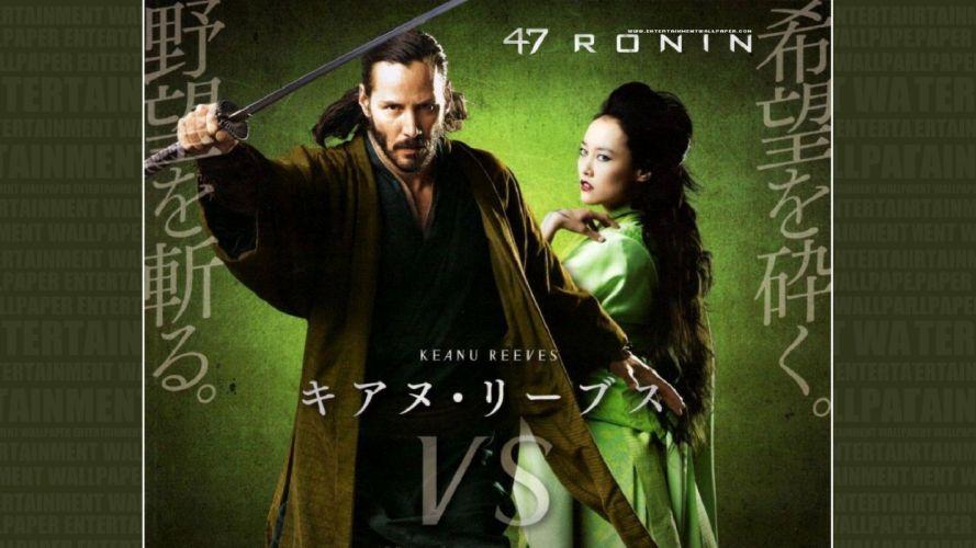 47-RONIN action adventure fantasy martial arts ronin samurai warrior wallpaper