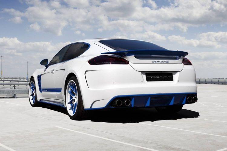 2014 TopCar Porsche Panamera Stingray GTR bodykit tuning supercars wallpaper