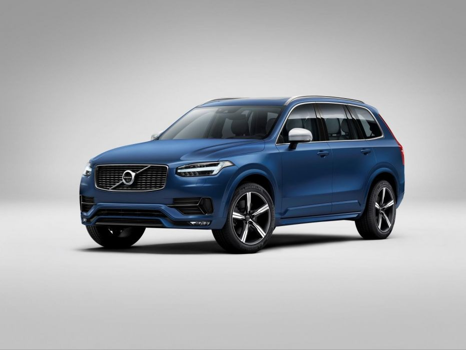 2014 Volvo XC90 R-Design SUV car wallpaper