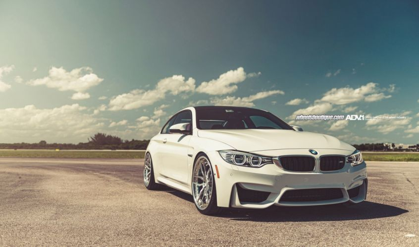 2014 bmw-m4 adv1 wheels tuning wallpaper