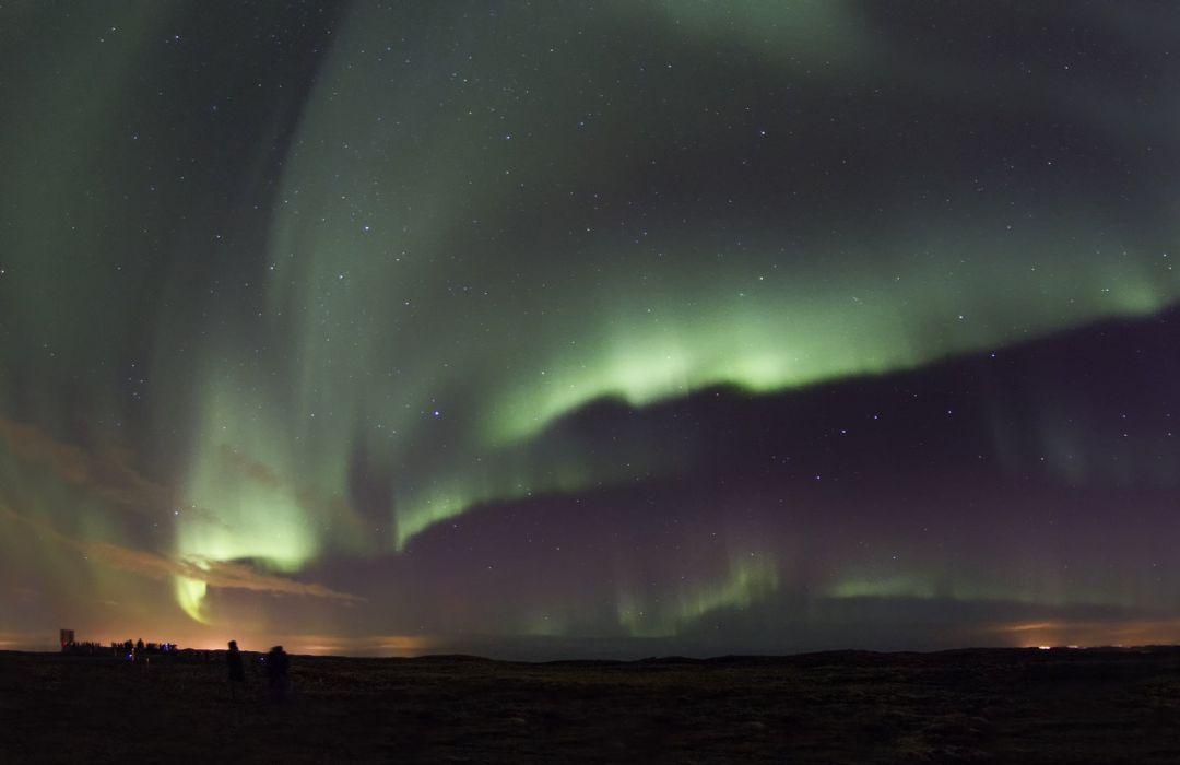 Alaska aurora aurora borealis northern lights Nature sky landscape outdoors artic boreale wallpaper