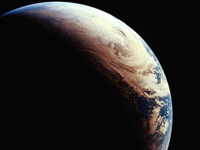 space planet universe earth satelite look wallpaper