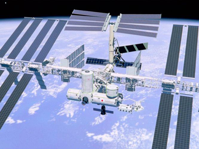 space planet universe earth satelite look wallpaper