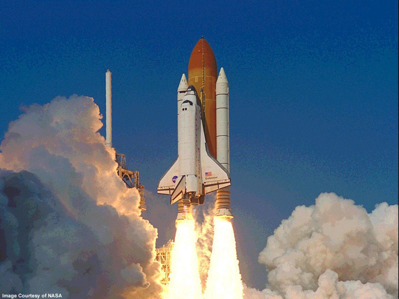 Space Shatl Rocket Nasa Lanch Universe Astronauts