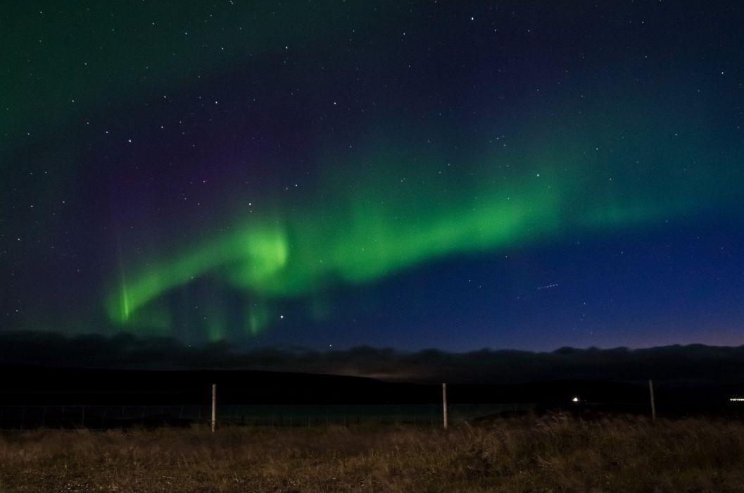alaska Artic aurora boreale borealis landscape Lights nature northern outdoors sky wallpaper