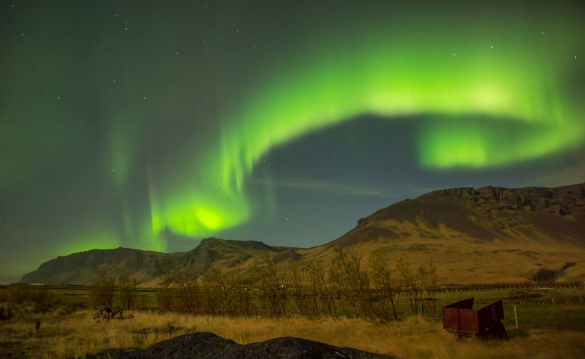 alaska Artic aurora boreale borealis landscape Lights nature northern outdoors sky wallpaper
