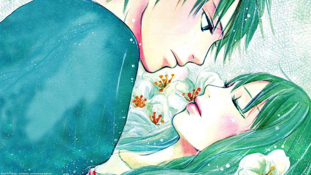 character kimi ni todoke sadako flower love wallpaper