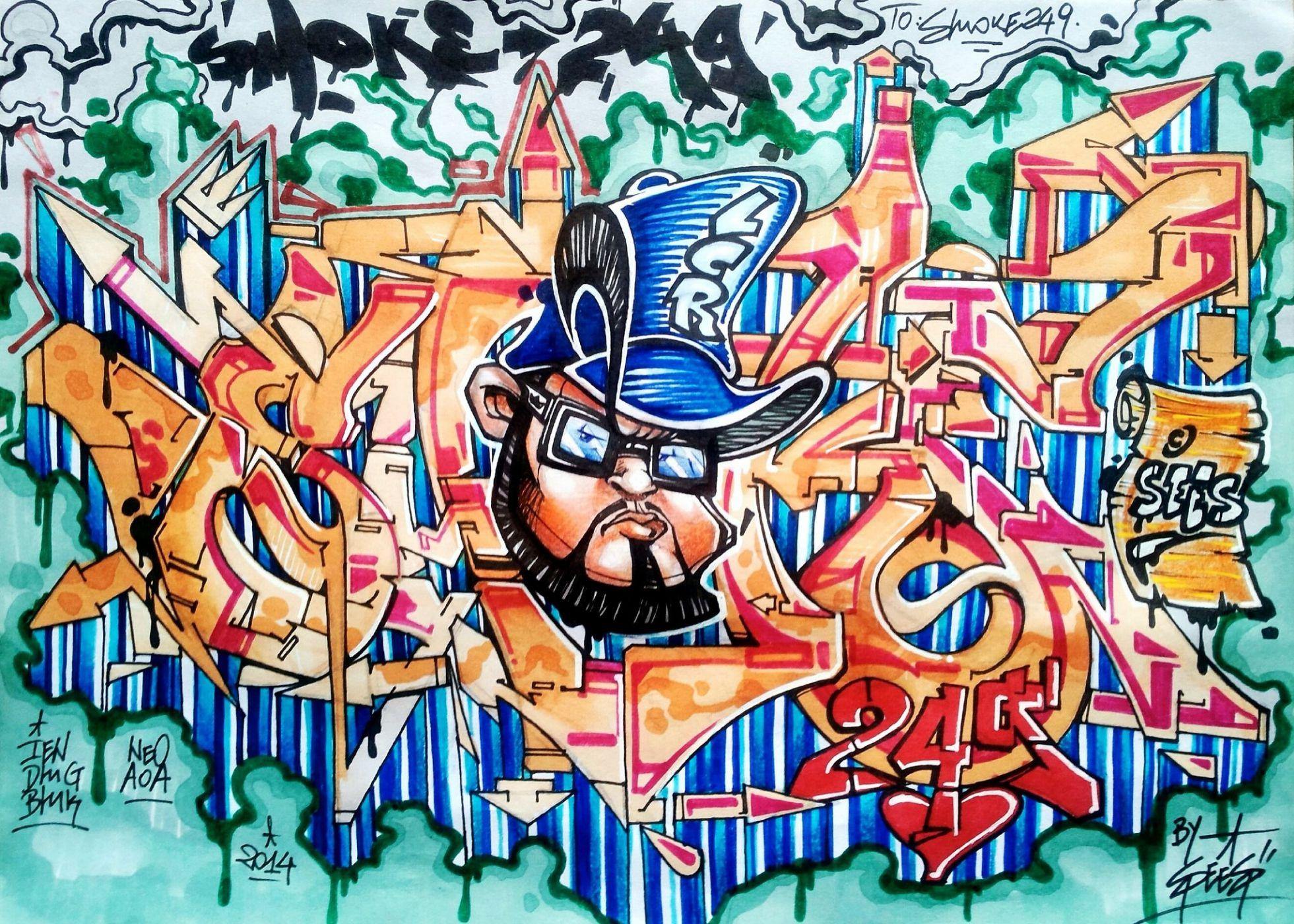 Картинки крутые граффити, горе