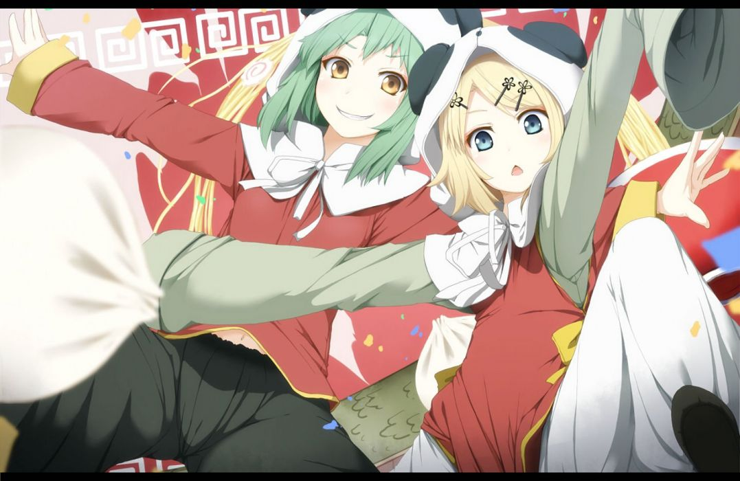 (byoubyou) gumi kagamine rin vocaloid wallpaper