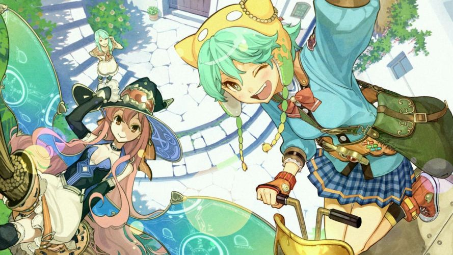 atelier shallie-alchemists of the dusk sea game cg nady elminus shallotte elminus wilbell voll erslied wallpaper
