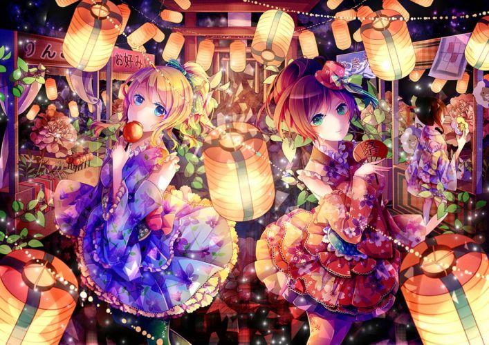 girls ayase eri dress fan love live! school idol project toujou nozomi yasato yazawa nico wallpaper