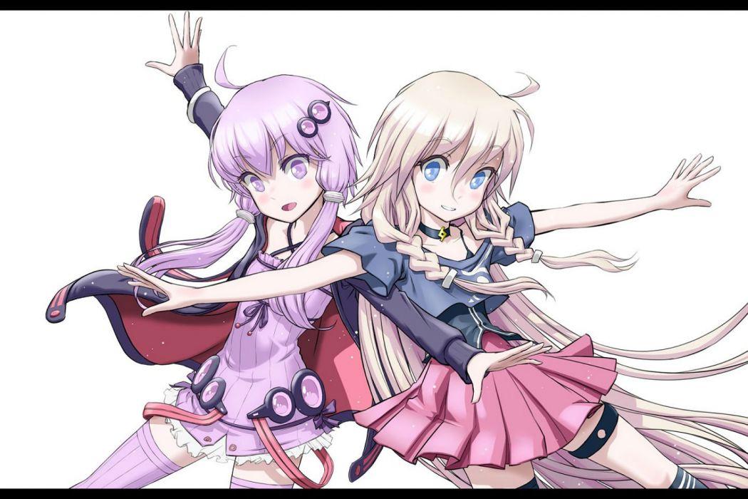 Ia Ponta Np Vocaloid Yuzuki Yukari Wallpaper 1440x960