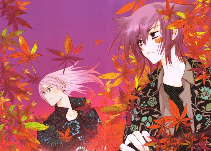Kouga Yun Loveless Your Eyes Only (Kouga Yun) Agatsuma Soubi Aoyagi Ritsuka wallpaper