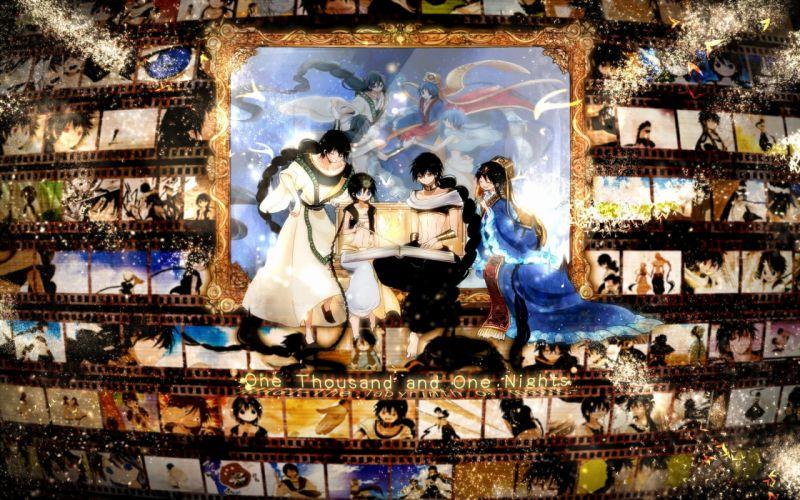 Monarin MAGI The Labyrinth of Magic Judar Aladdin wallpaper