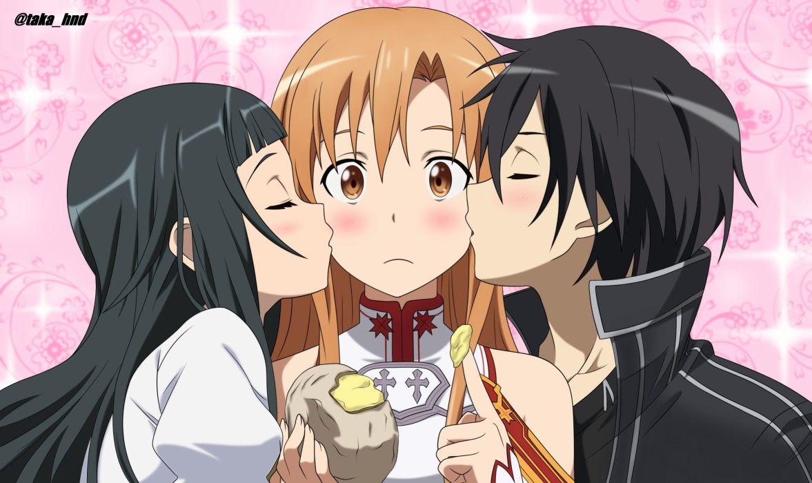 Asuna and Kirito Sword Art Online wallpaper Anime wallpapers