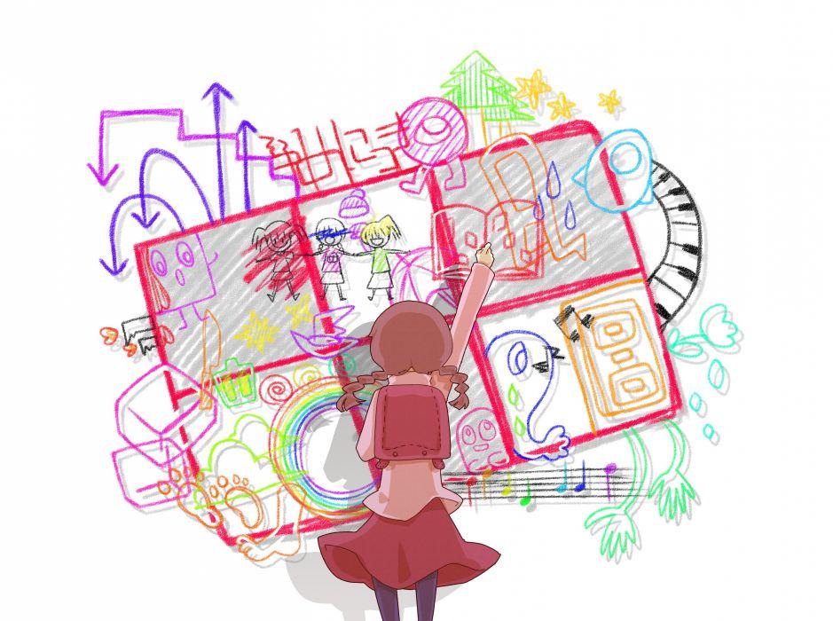 Yume Nikki Monoko Mafurako Madotsuki Pirori wallpaper