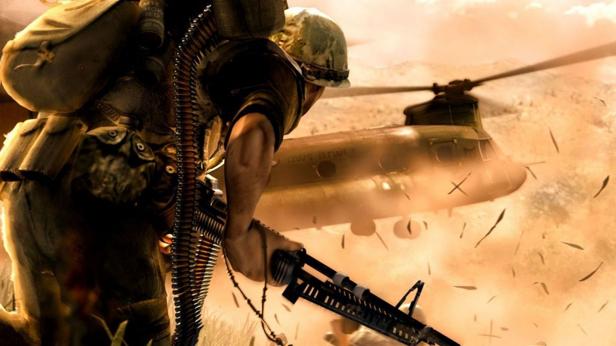 SHELLSHOCK shooter military war fighting action wallpaper