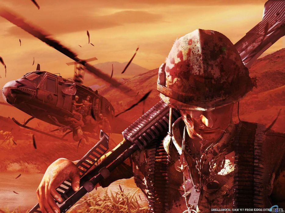 SHELLSHOCK shooter military war fighting action wallpaper