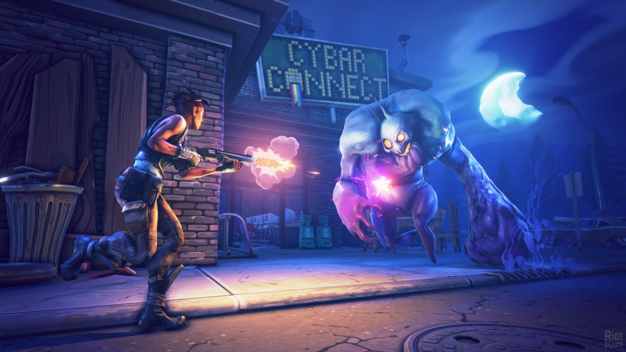 FORTNITE coop sandbox survival fighting action wallpaper