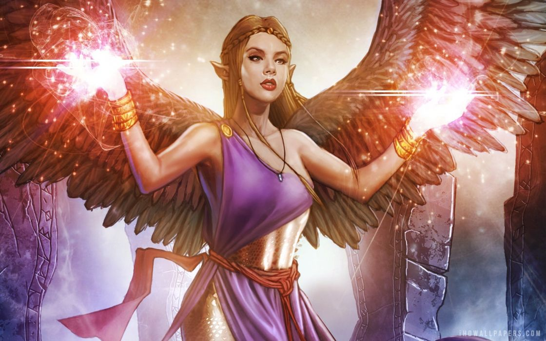SOLFORGE digital game fantasy strategy card fighting online mmo wallpaper
