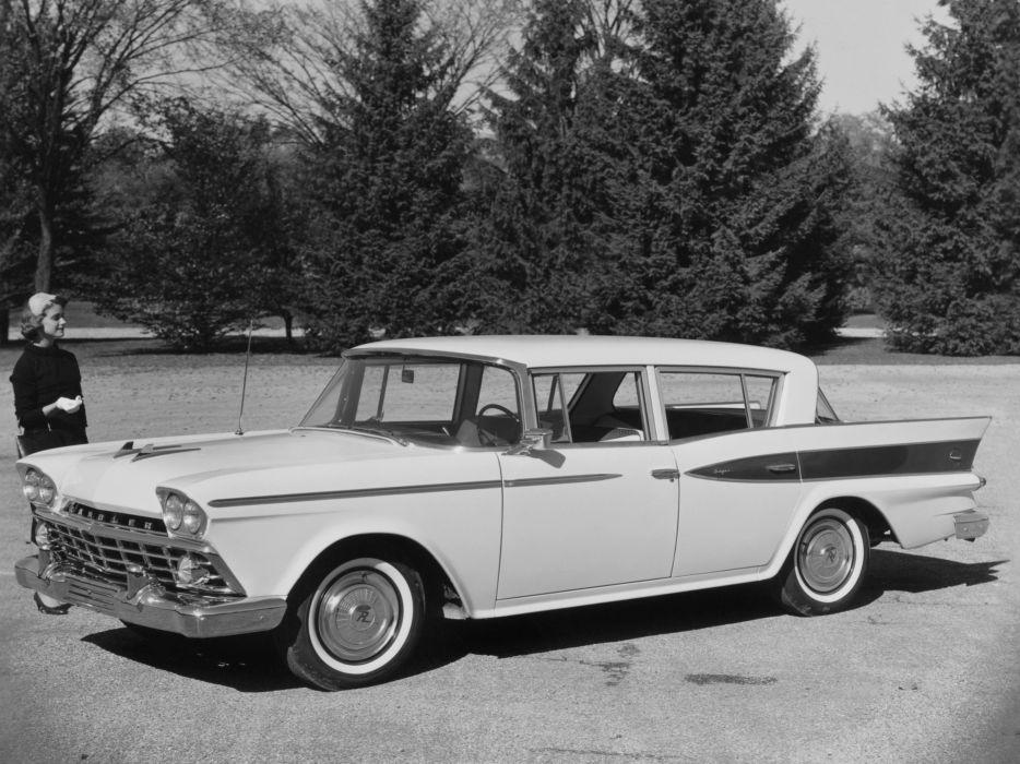 1959 Rambler Six Super Sedan (5915-1) wallpaper
