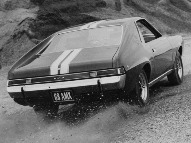 1968 AMC AMX (6839-7) muscle classic wallpaper