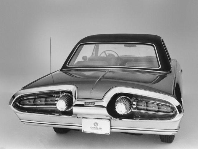 1963 Chrysler Turbine Car jet classic concept wallpaper