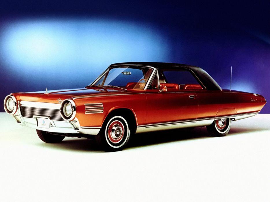 1963 Chrysler Turbine Car Jet Clic Concept Wallpaper