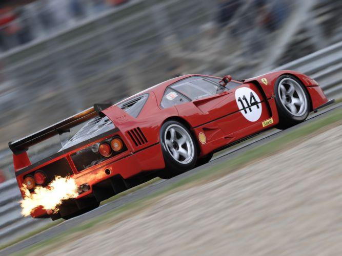 1988 Ferrari F40 L-M Michelotto supercar race racing wallpaper