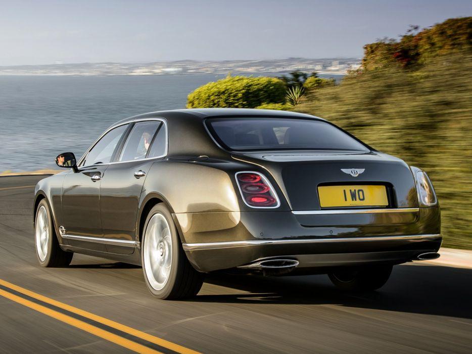 2015 Bentley Mulsanne Speed luxury wallpaper