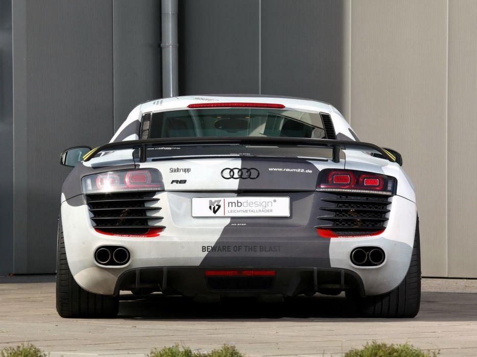 2014 mbDESIGN Audi R-8 tuning wallpaper