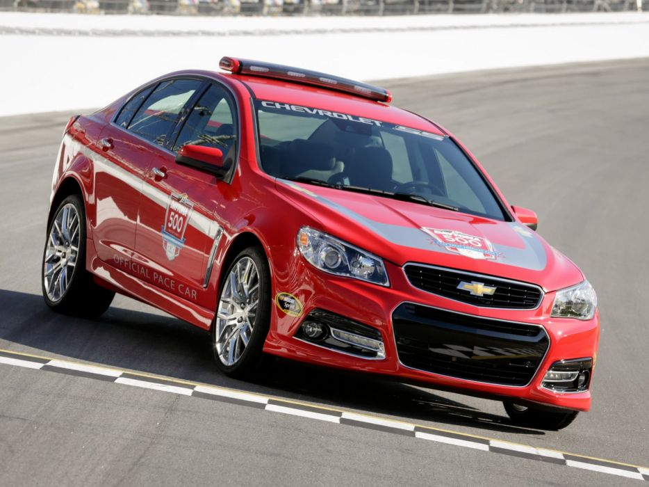 2014 Chevrolet S-S Daytona 500 Pace race racing nascar muscle wallpaper