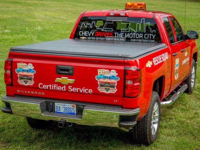 2014 Chevrolet Silverado L-T Rescue Squad emergency pickup 4x4 wallpaper