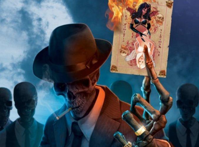 fantasy illustration skull horror gothic skeleton wallpaper