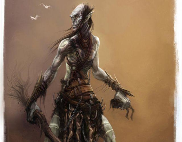 fantasy giant creature monster horror wallpaper