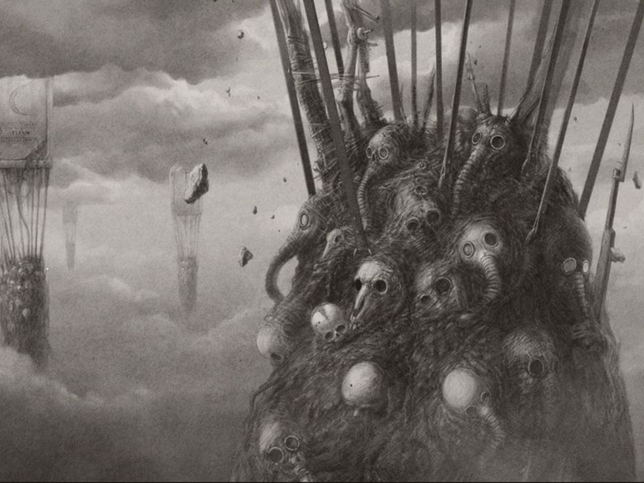 Horror Fantasy Gas Mask Apocalyptic Skull Wallpaper 1920x1440 450107 Wallpaperup