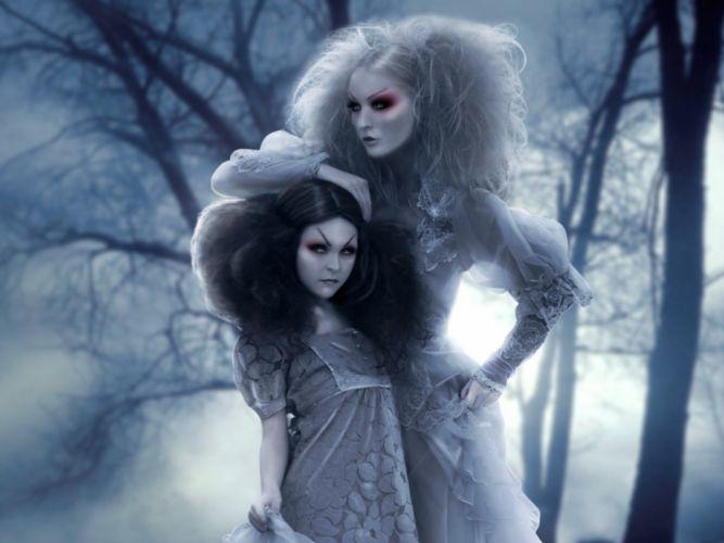 horror banshee dark fantasy vampire monster wallpaper