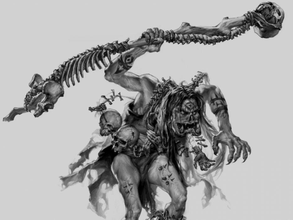 Sharman Skull