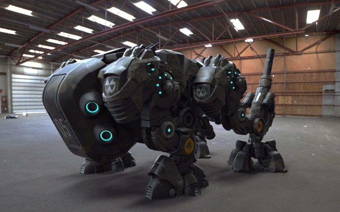 sci-fi mech robot mecha robot wallpaper