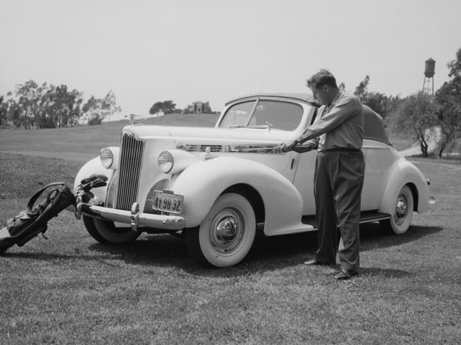 1940 Packard 120 Convertible Coupe (1801-1399) wallpaper